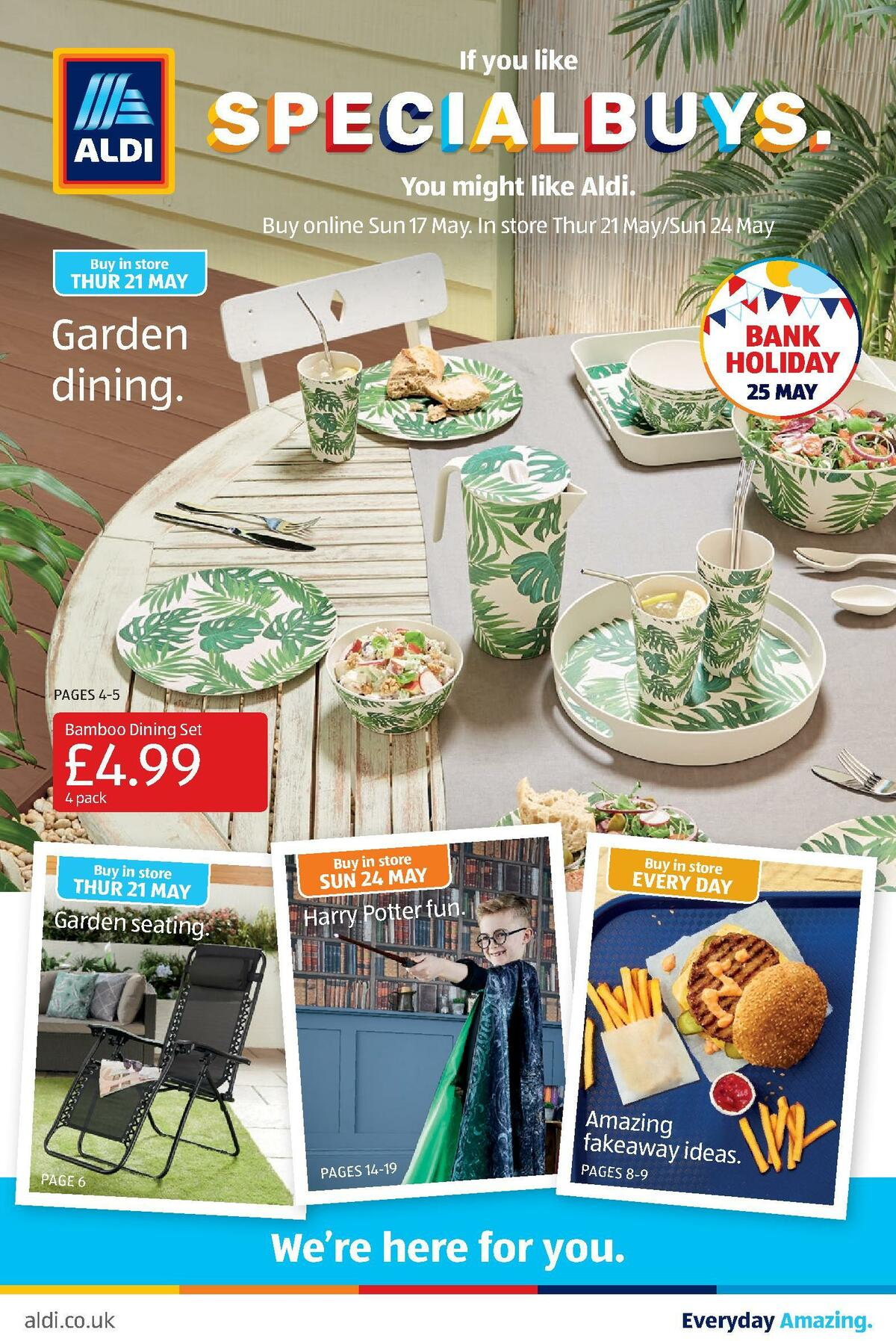ALDI Offers from May 21