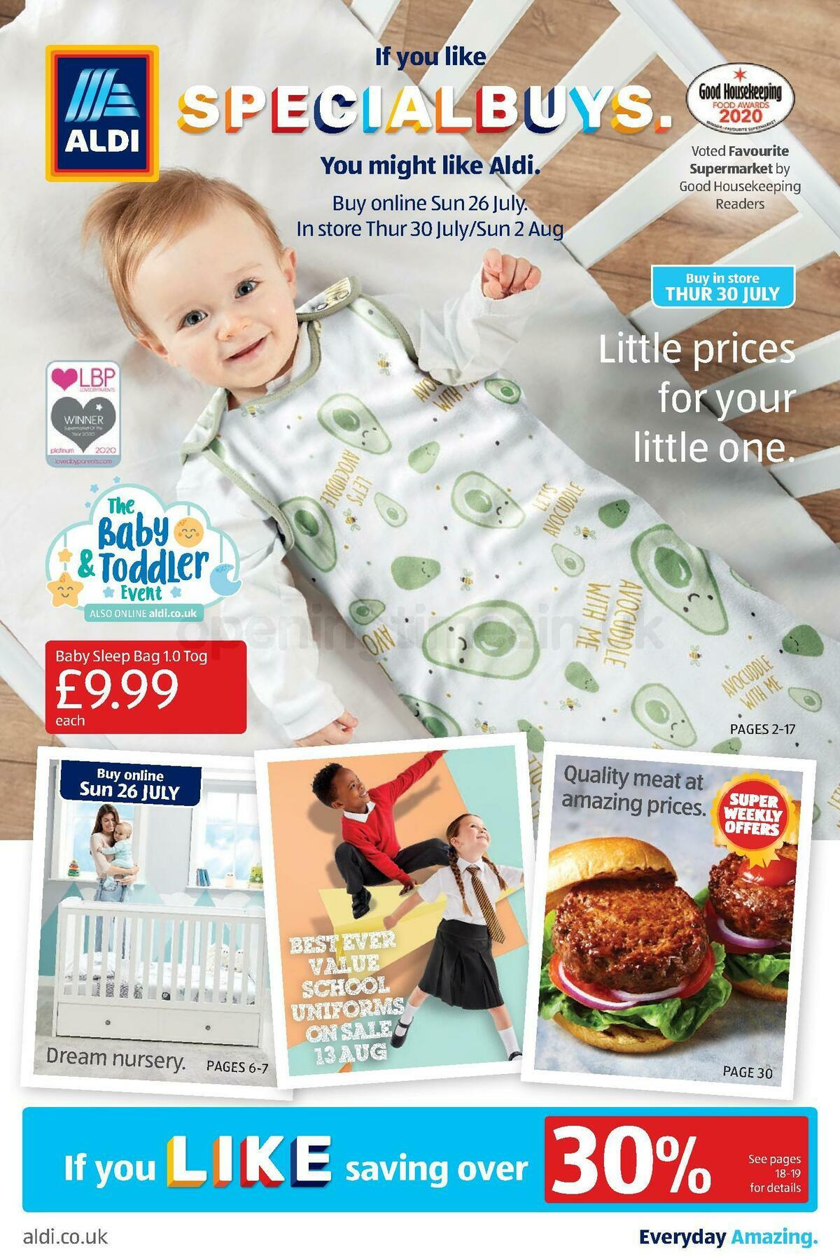 ALDI Offers from July 30