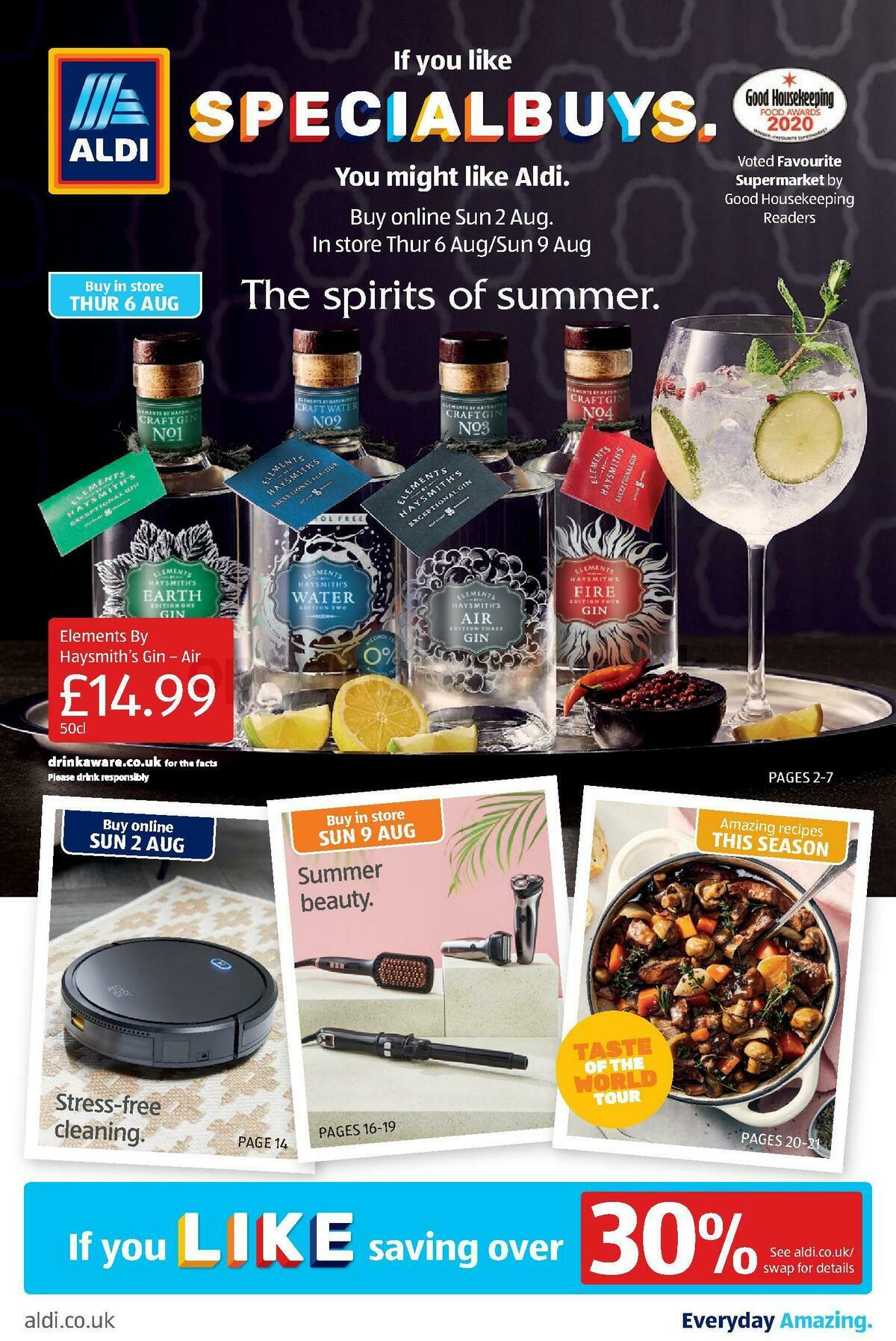 ALDI Offers from August 6