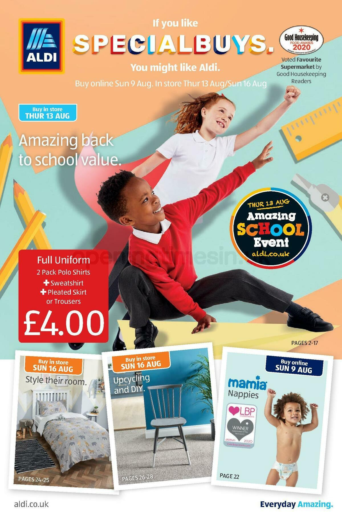 ALDI Offers from August 13