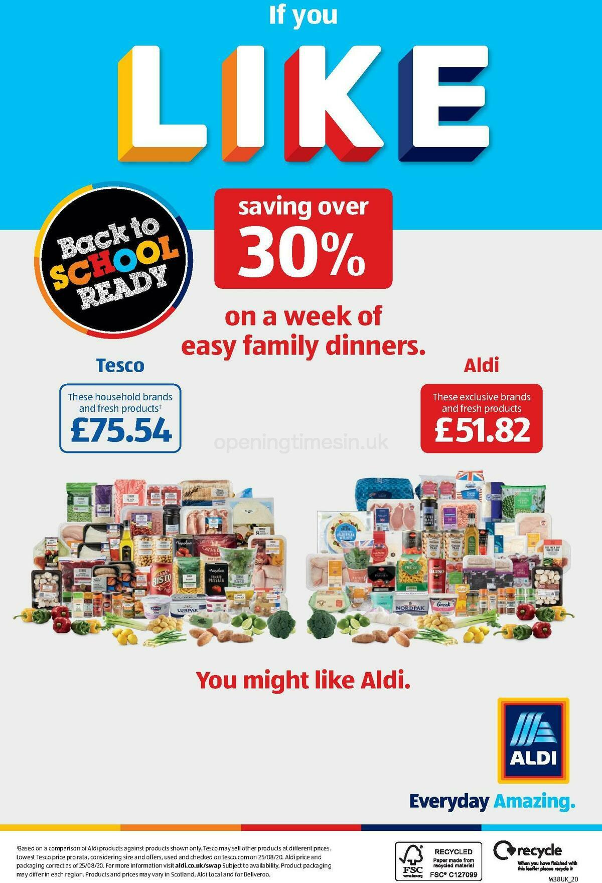 ALDI Offers from September 13