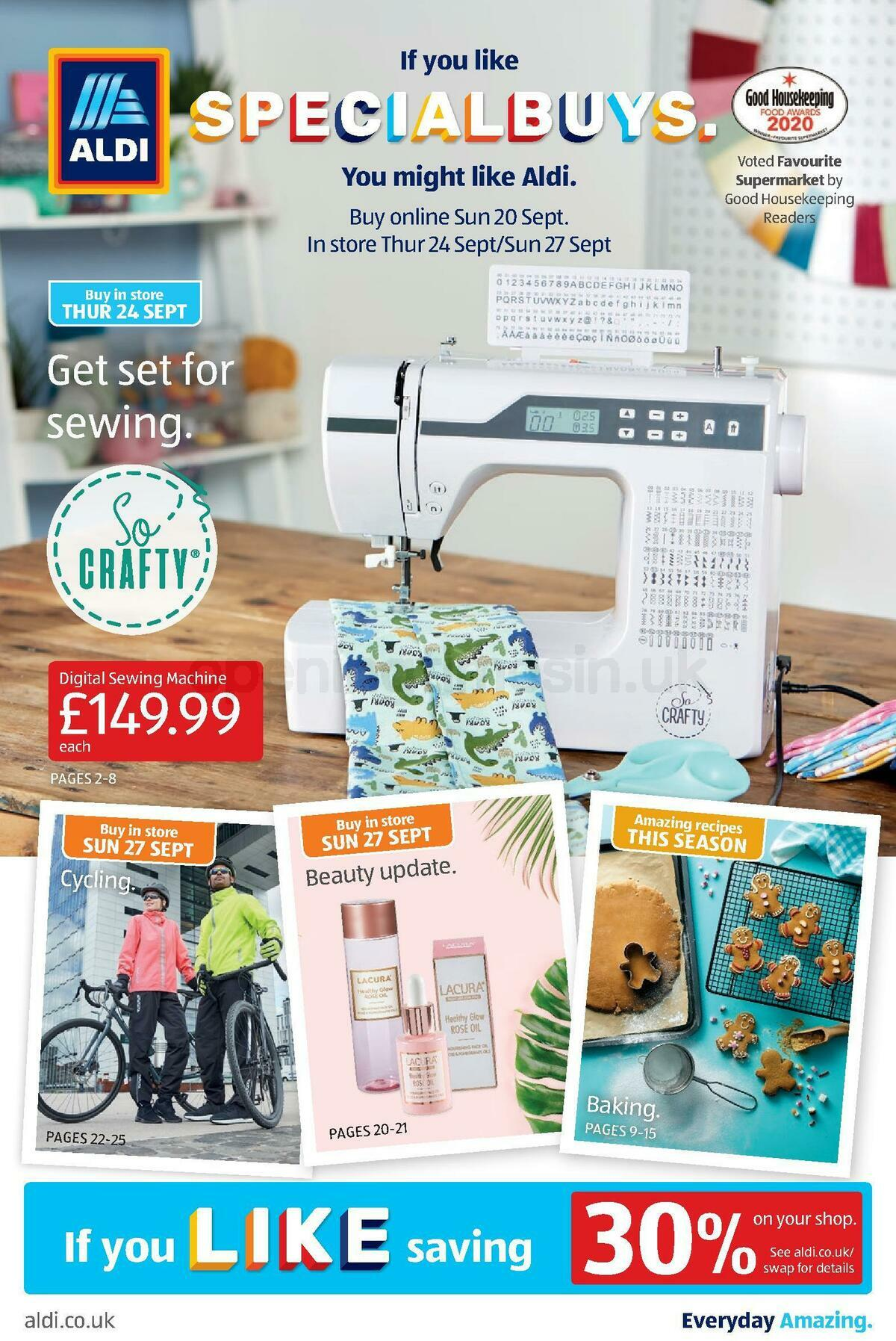 ALDI Offers from September 20