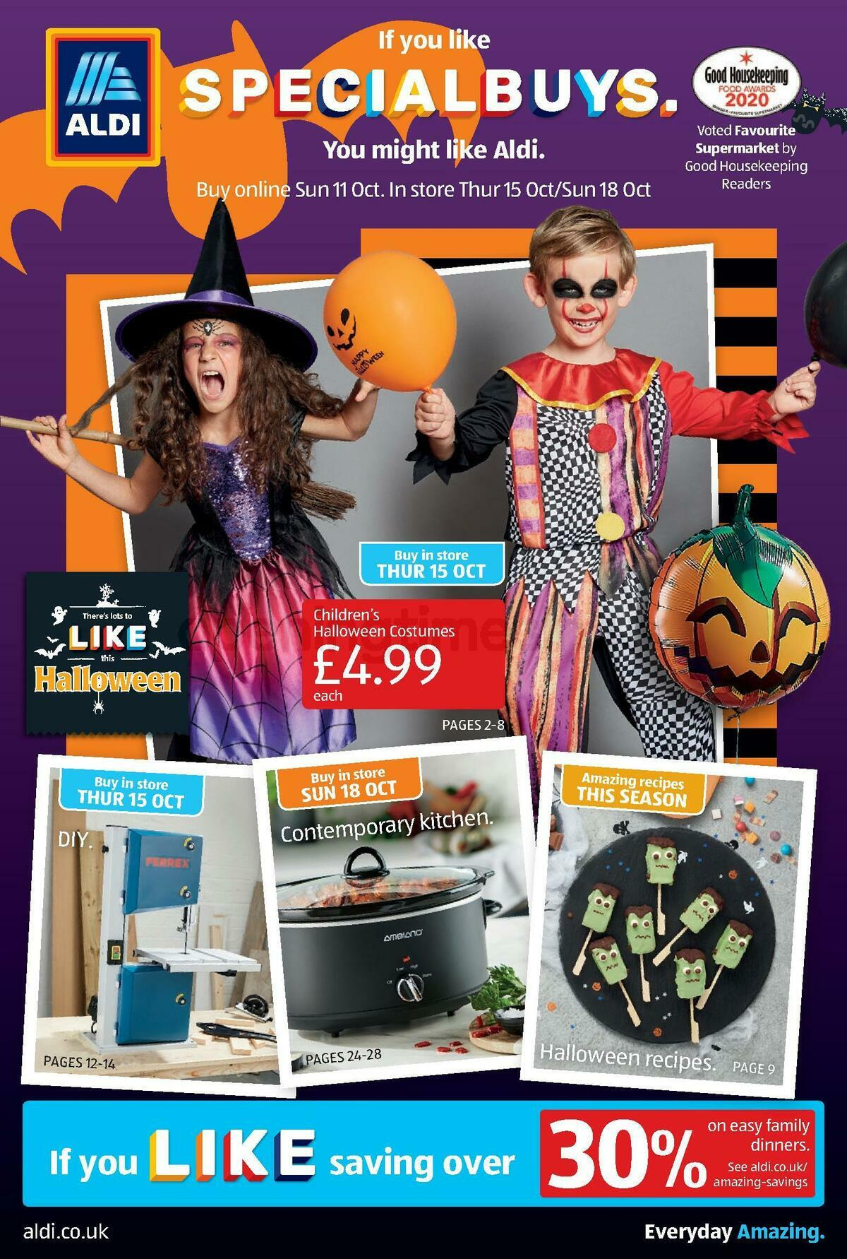 ALDI Offers from October 11