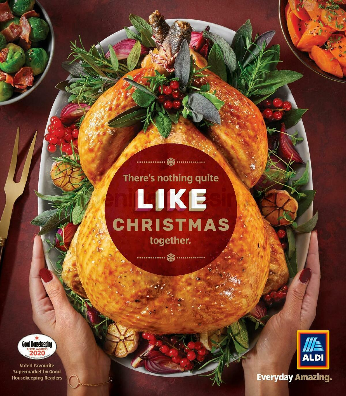 ALDI Christmas Brochure Offers from November 8
