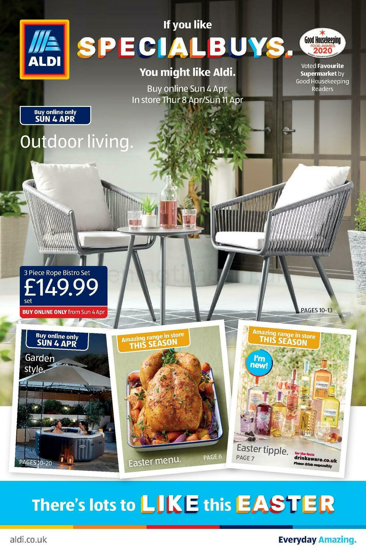 ALDI Offers from April 4