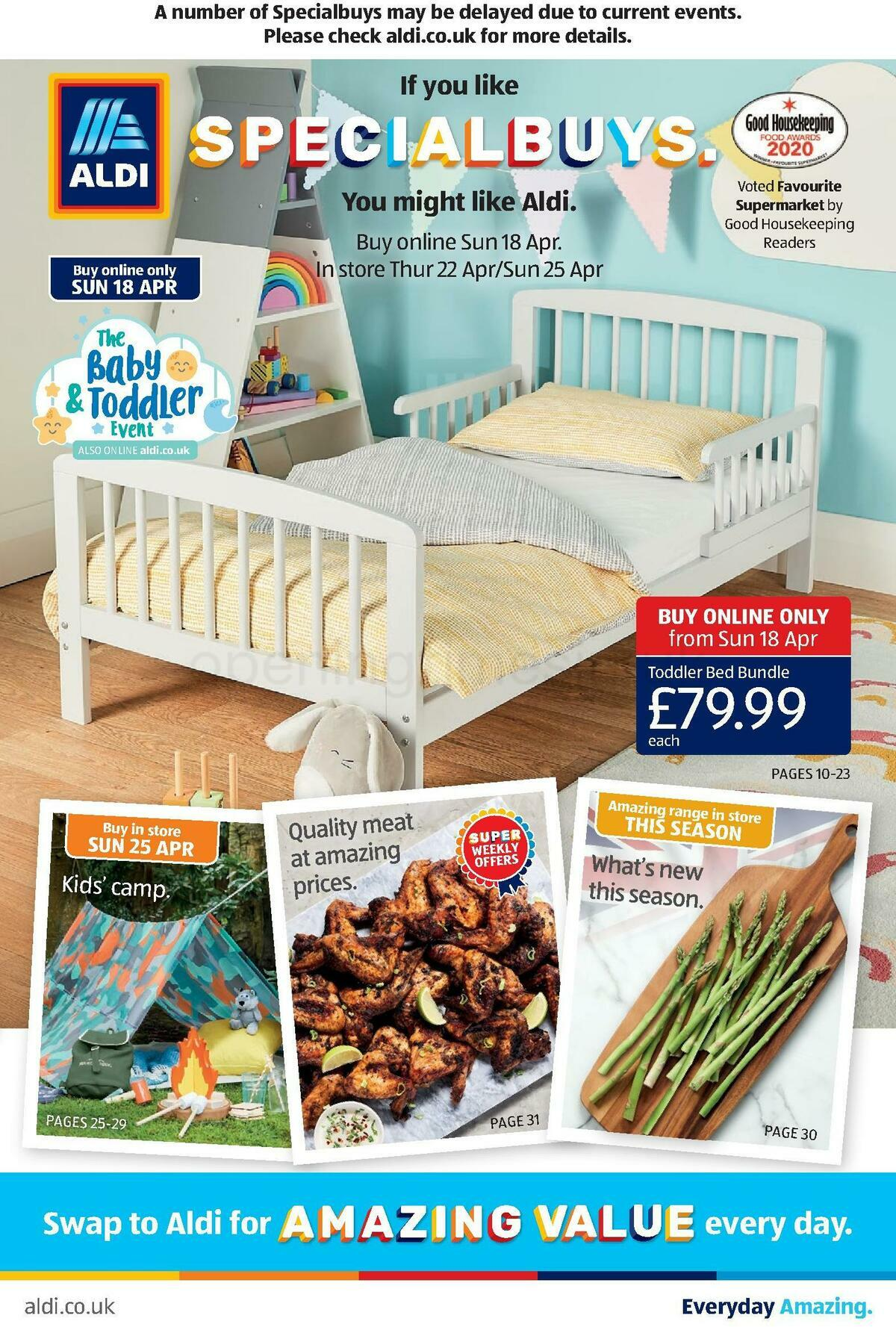 ALDI Offers from April 18