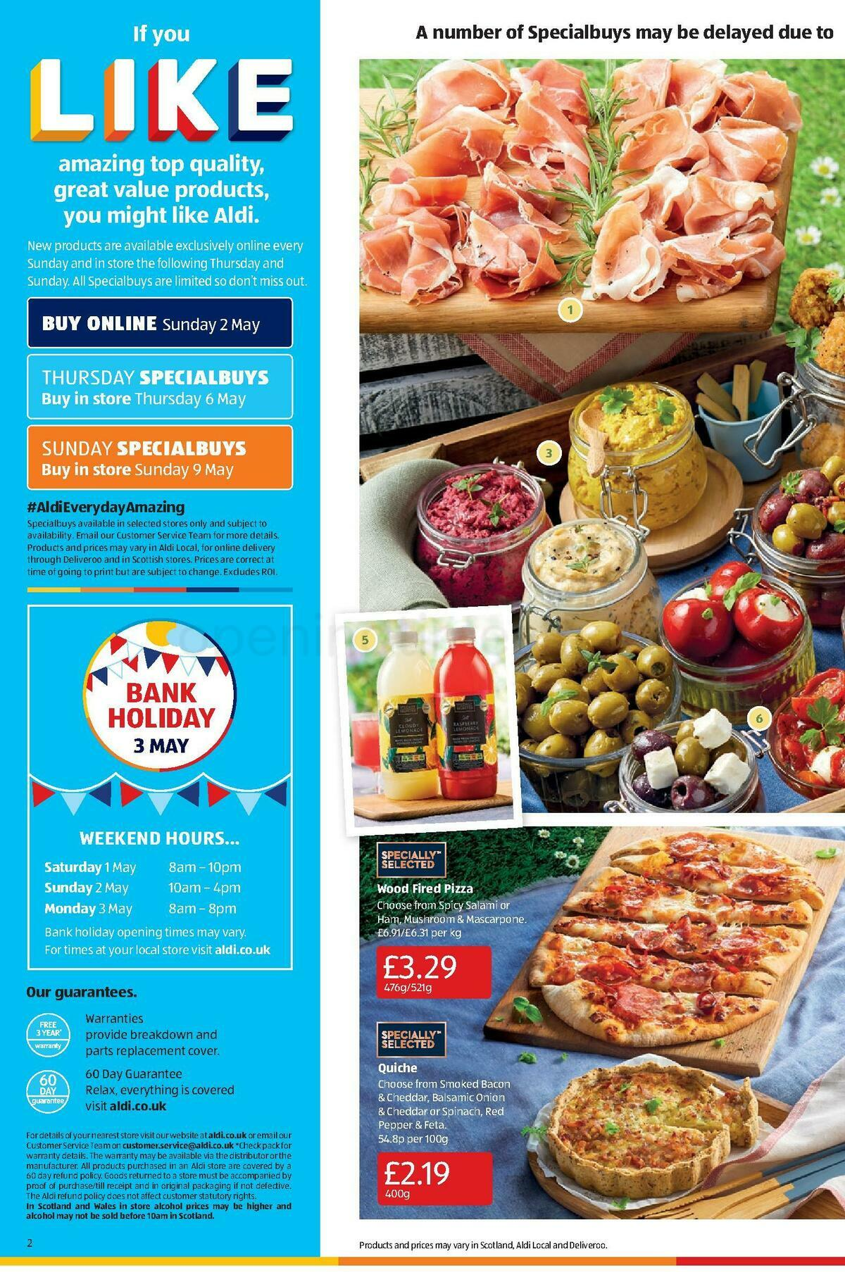 ALDI Offers from May 2