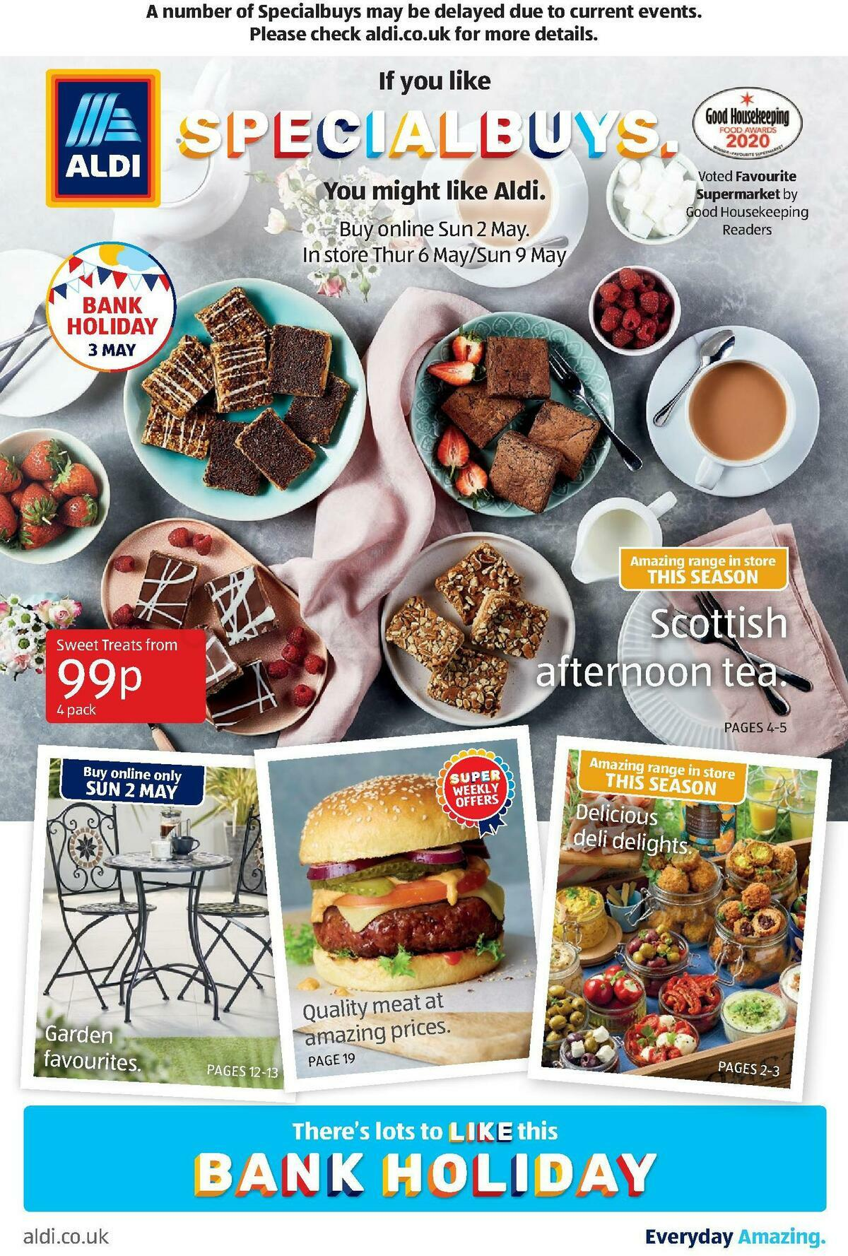 ALDI Scottish Offers from May 2
