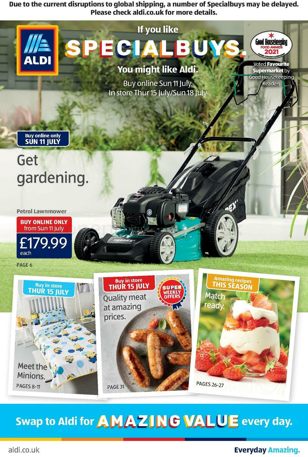 ALDI Offers from July 11
