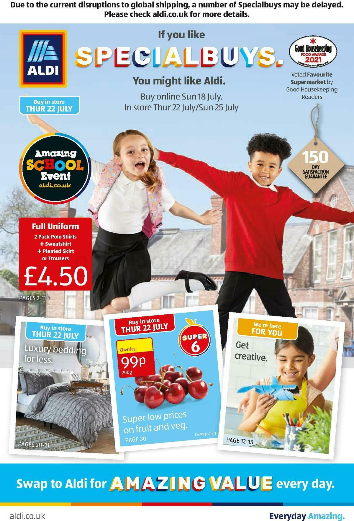 ALDI Offers from July 18