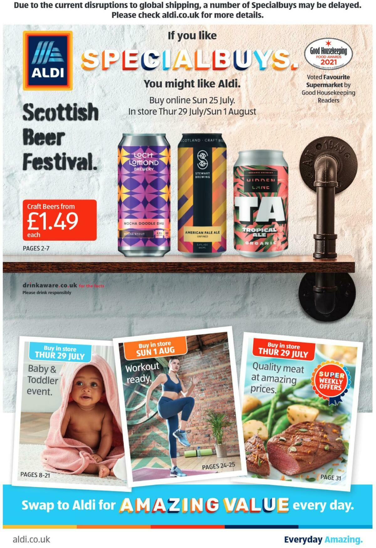 ALDI Scottish Offers from July 25