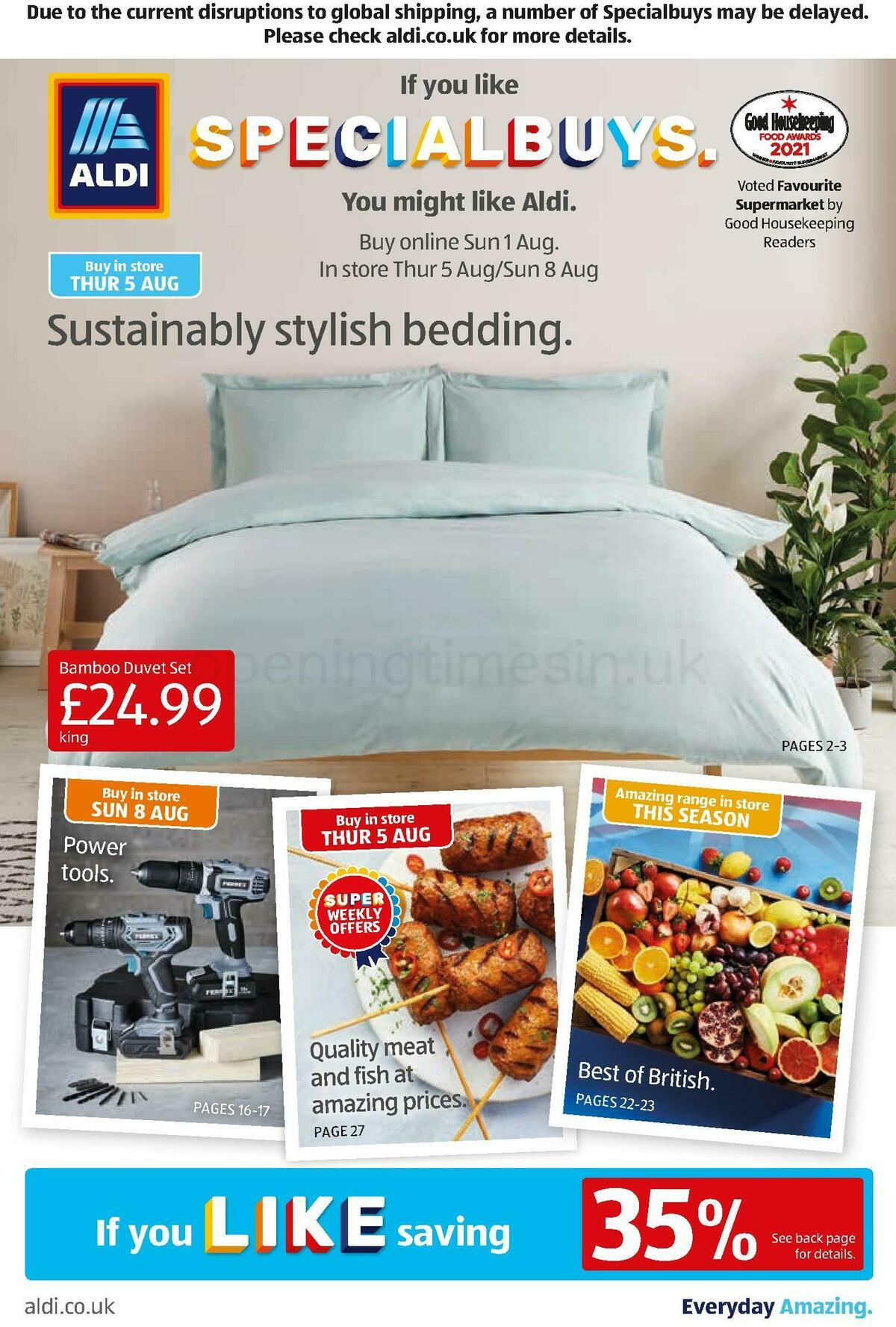 ALDI Offers from August 1