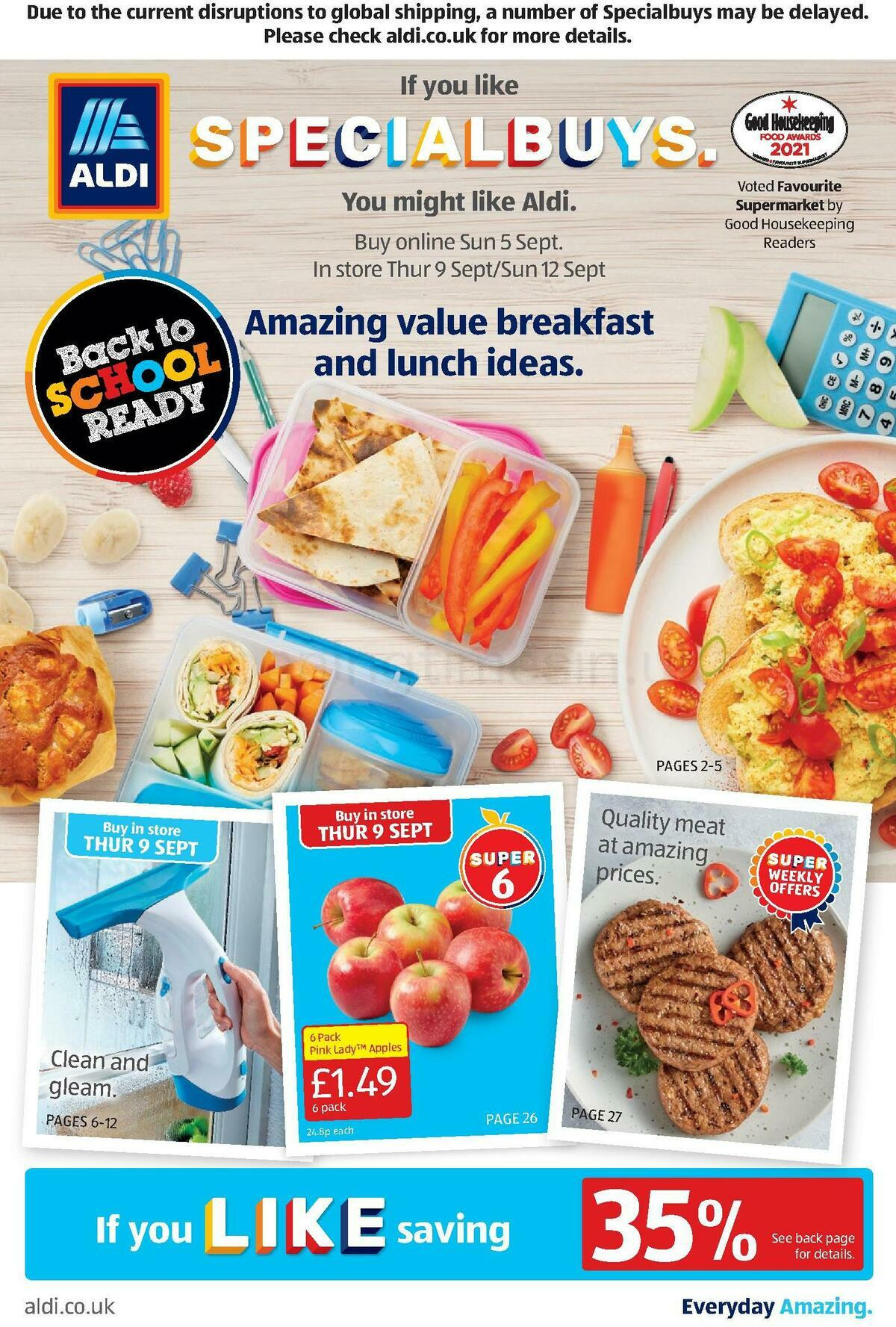 ALDI Offers from September 5