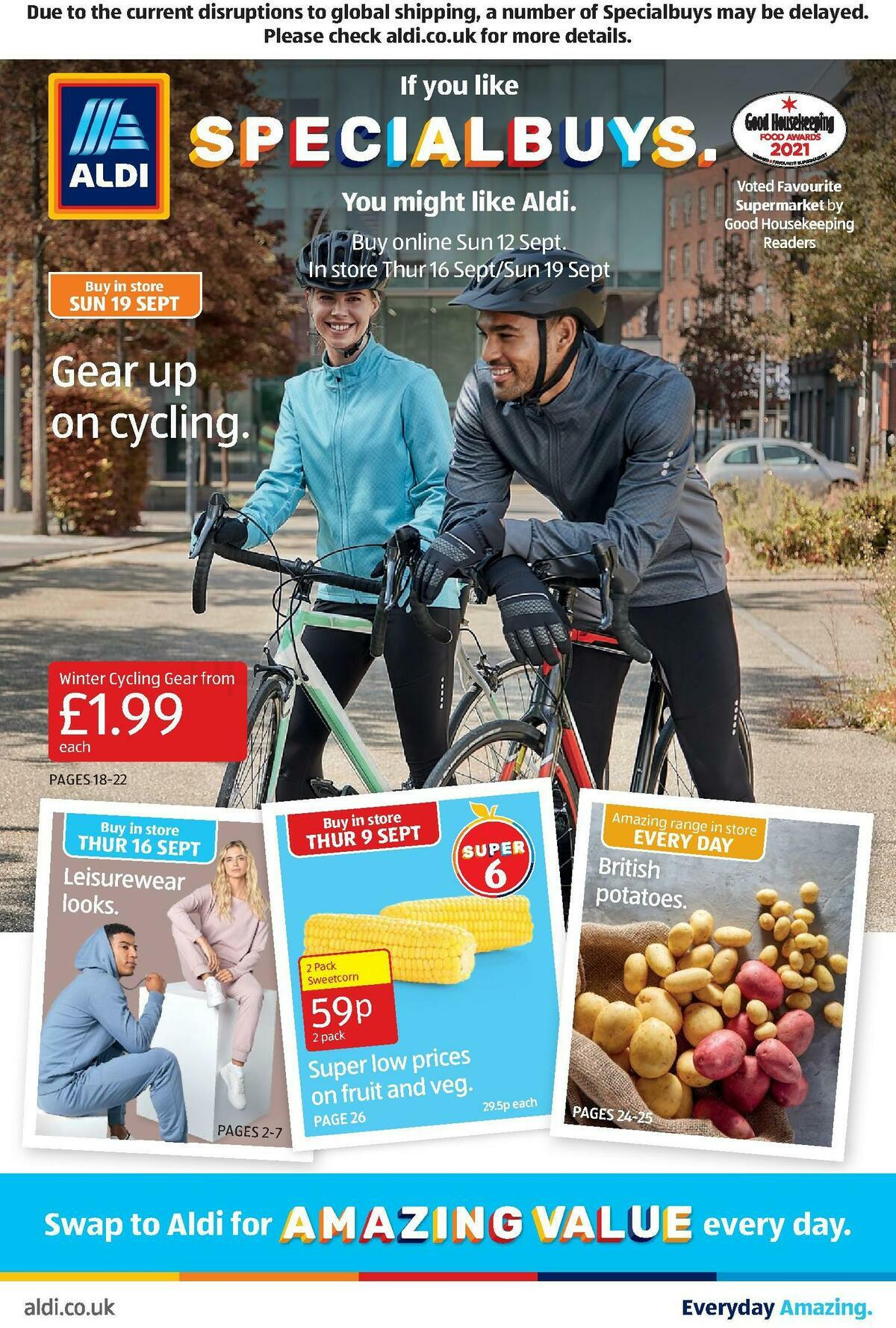 ALDI Offers from September 12