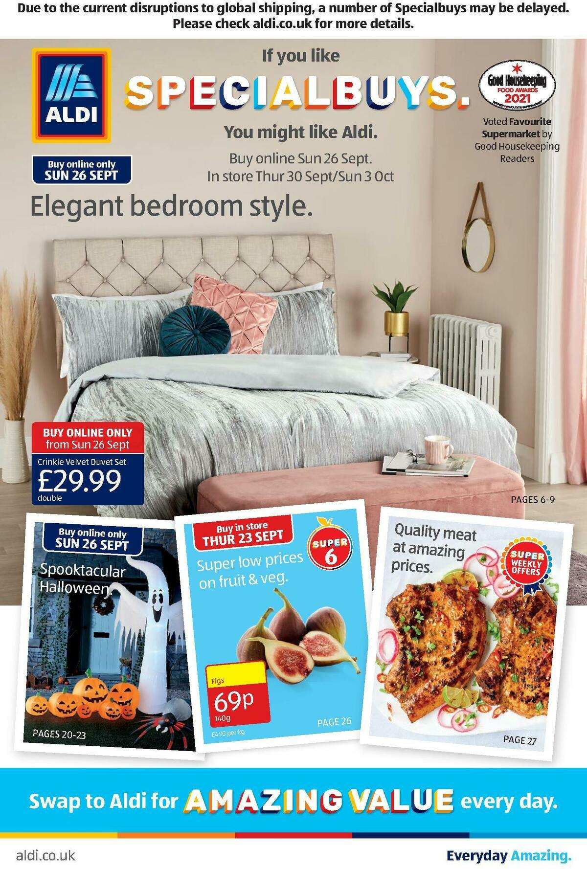 ALDI Offers from September 26