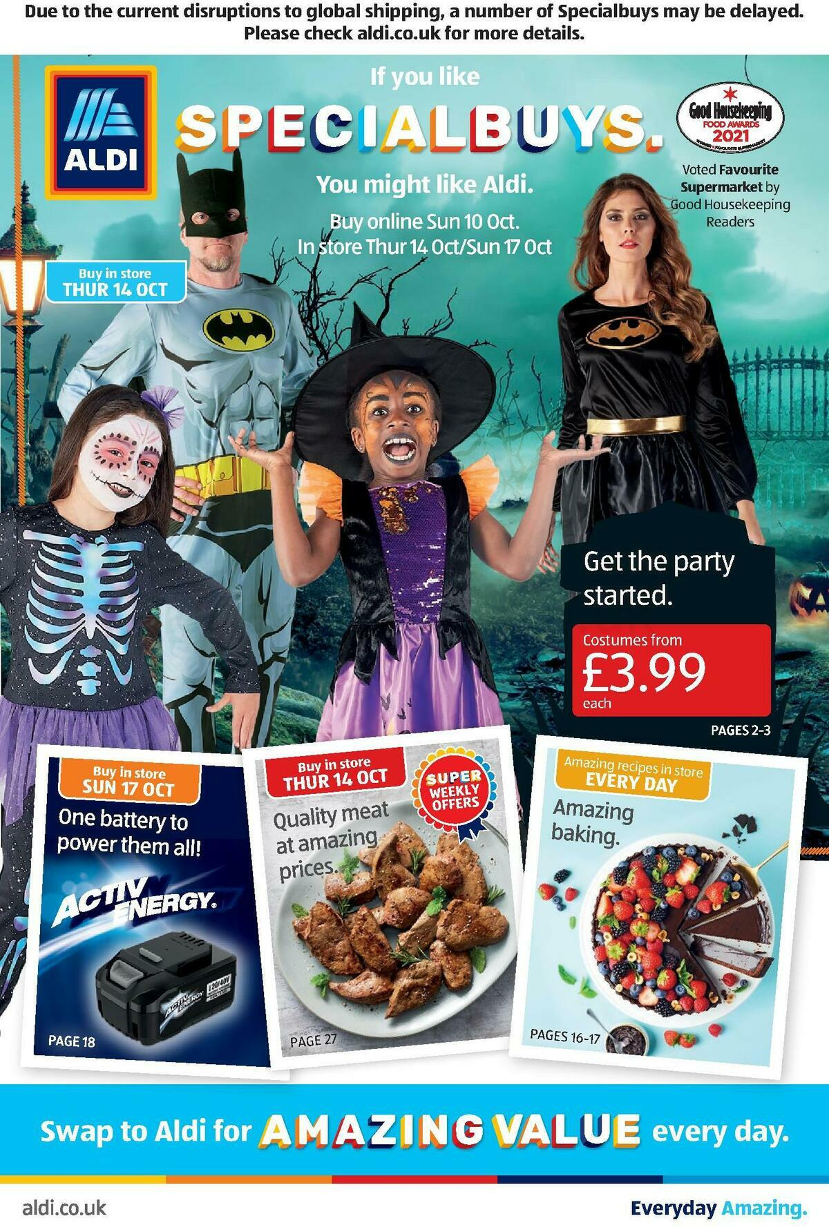 ALDI Offers from October 10