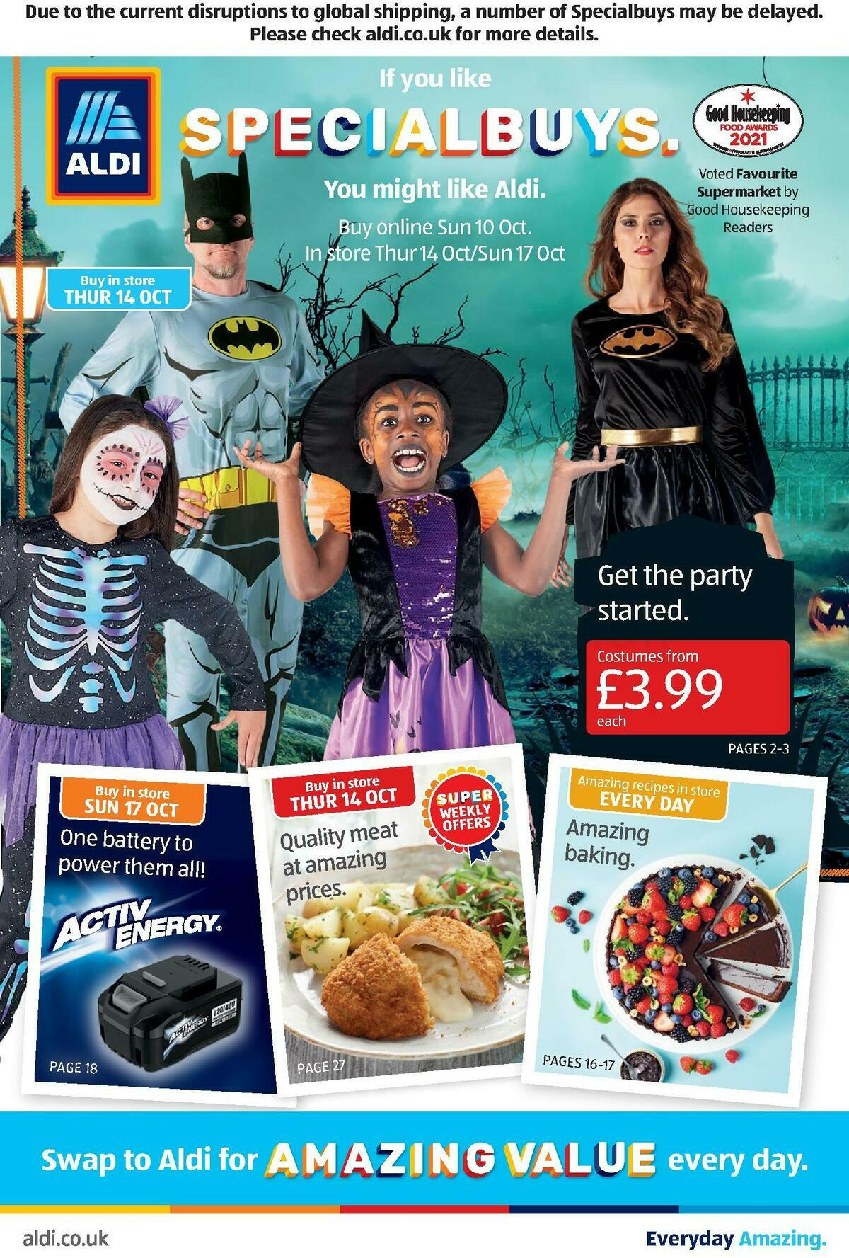 ALDI Scottish Offers from October 10