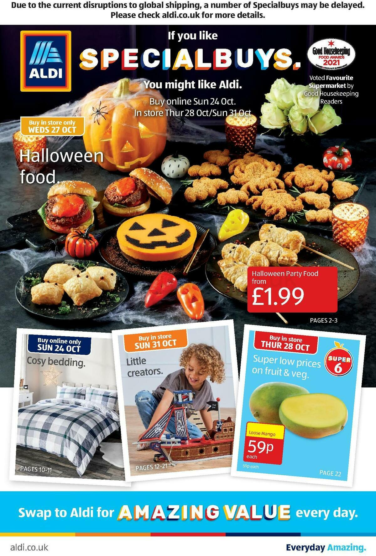 ALDI Offers from October 24