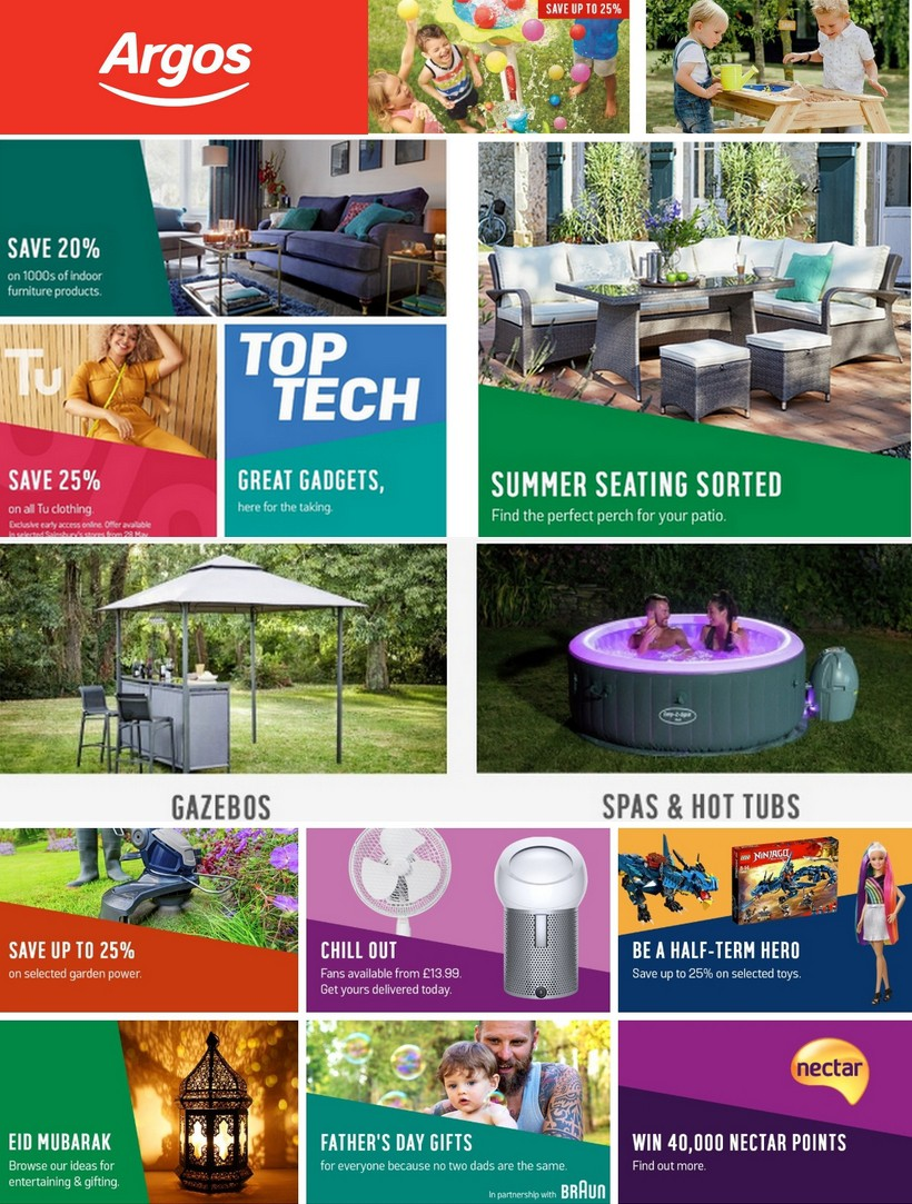 Argos Offers from June 4