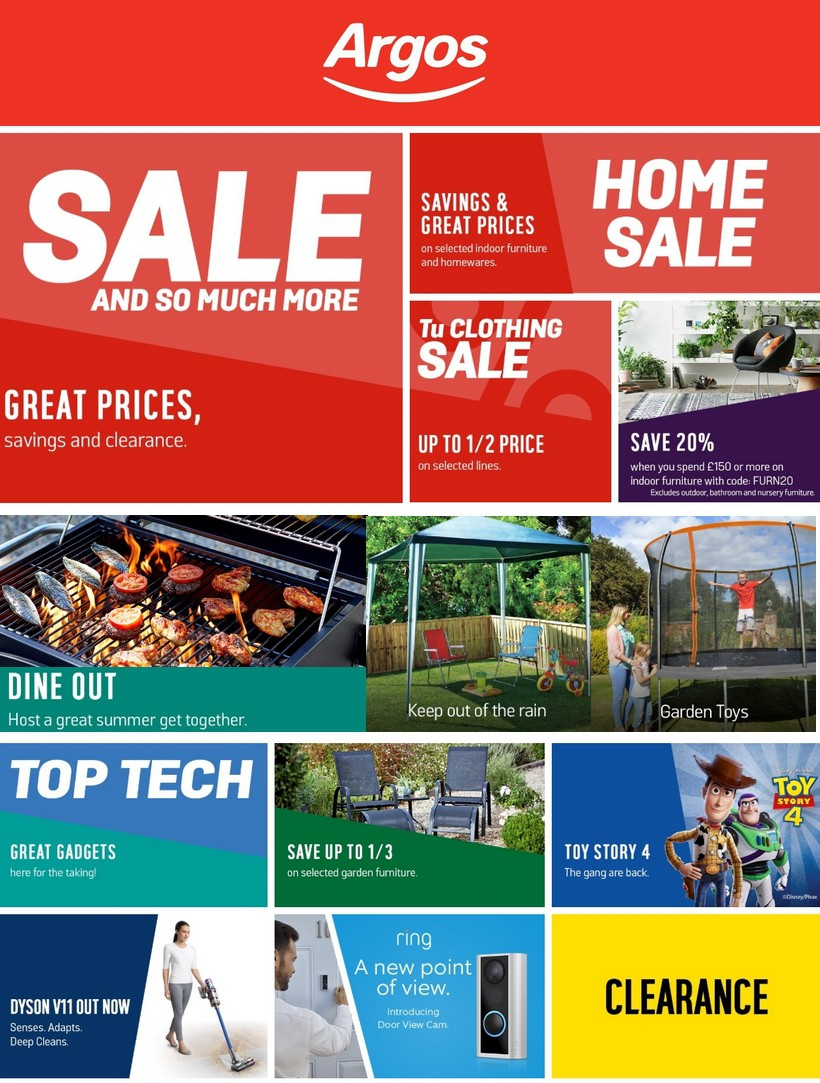 Argos Offers from June 25