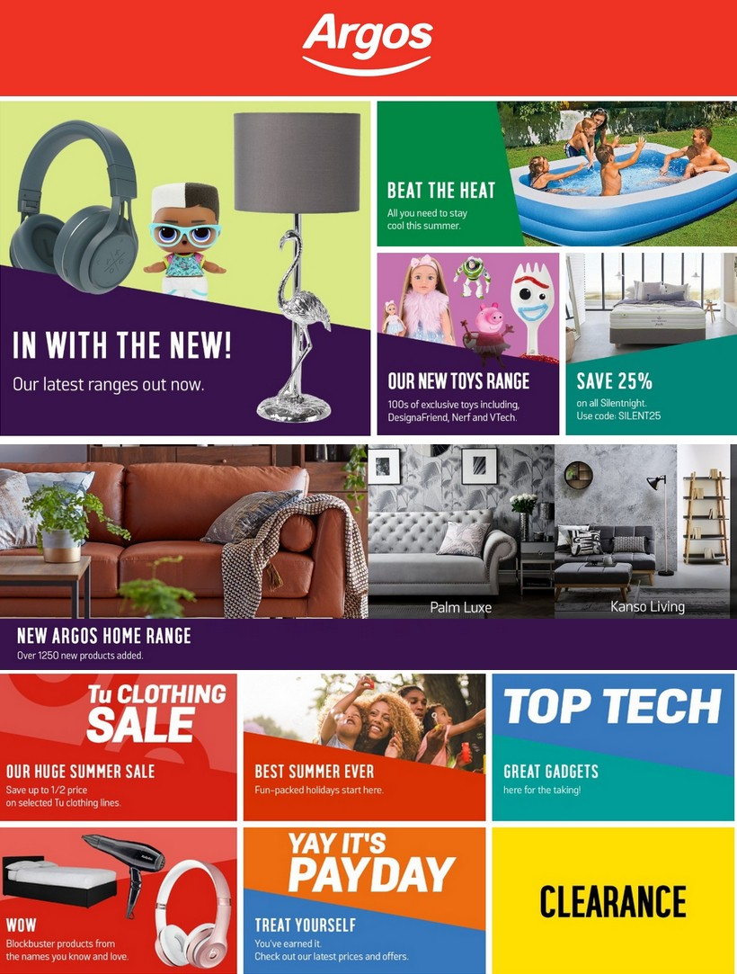 Argos Offers from July 30