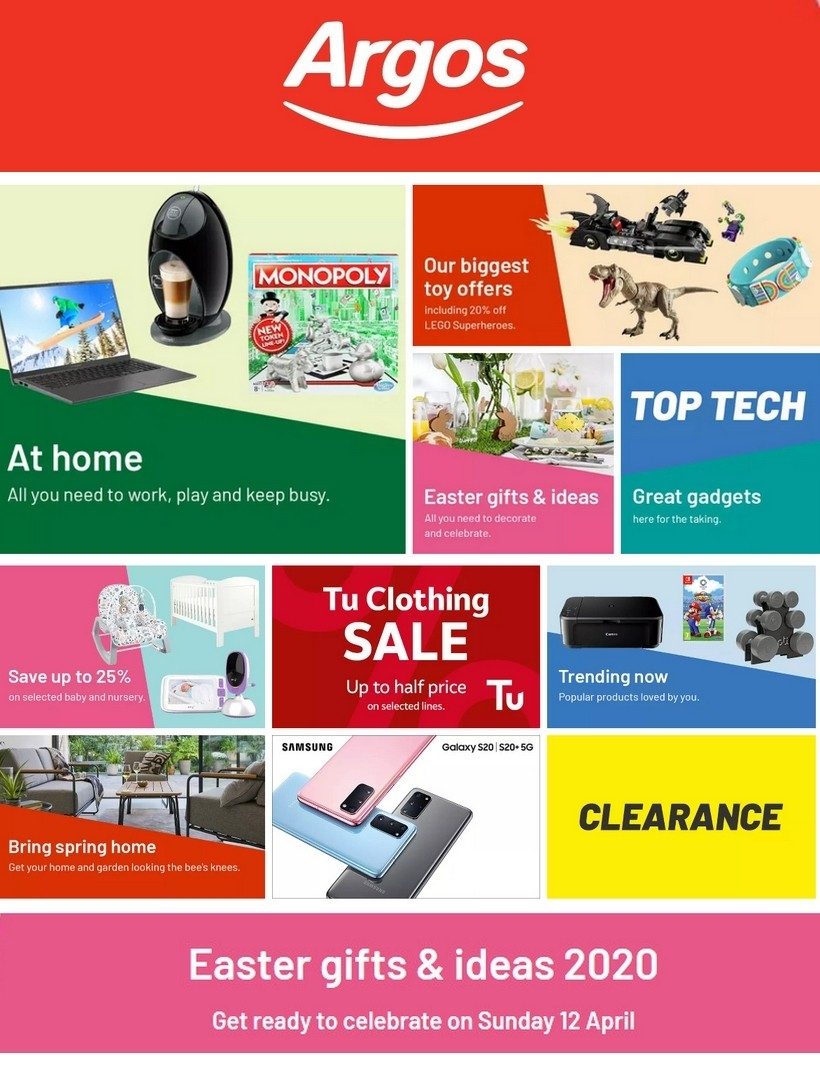 Argos Offers from March 24