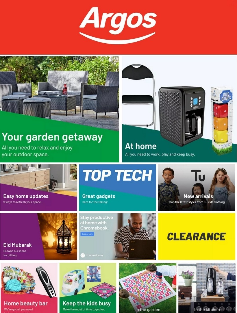 Argos Offers from May 12
