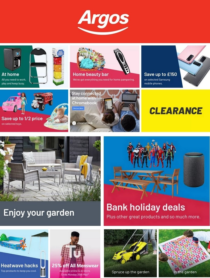 Argos Offers from May 25