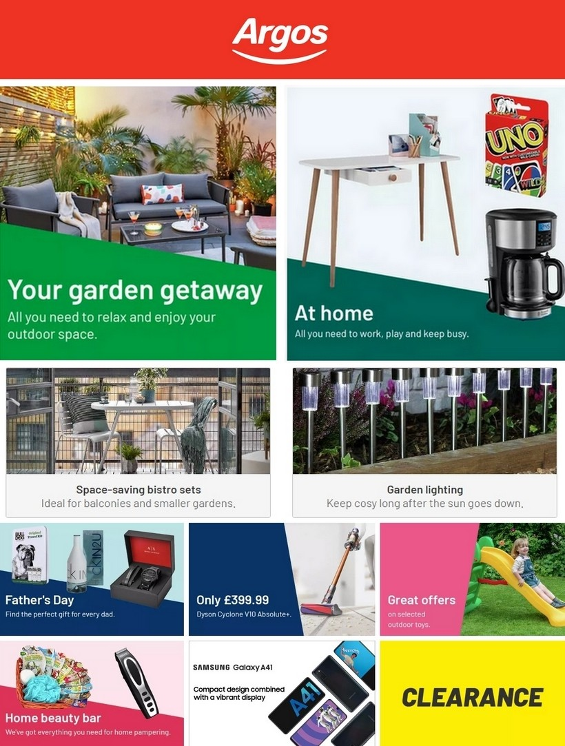 Argos Offers from June 2