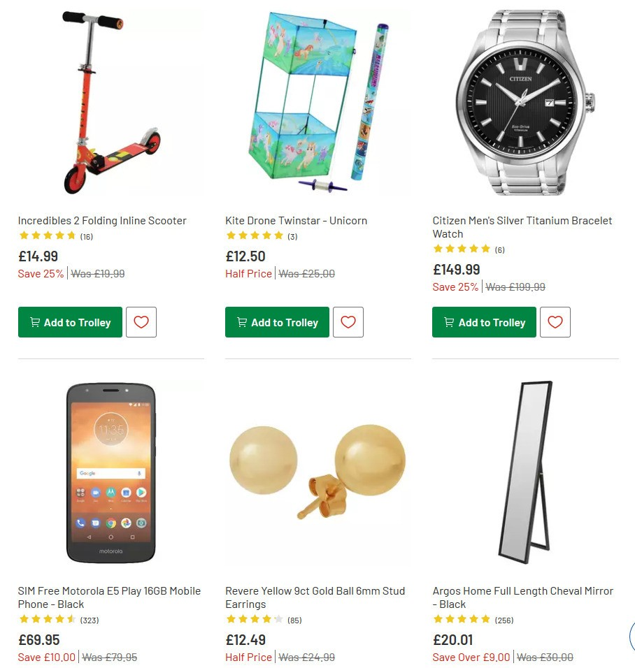 Argos Offers from June 23