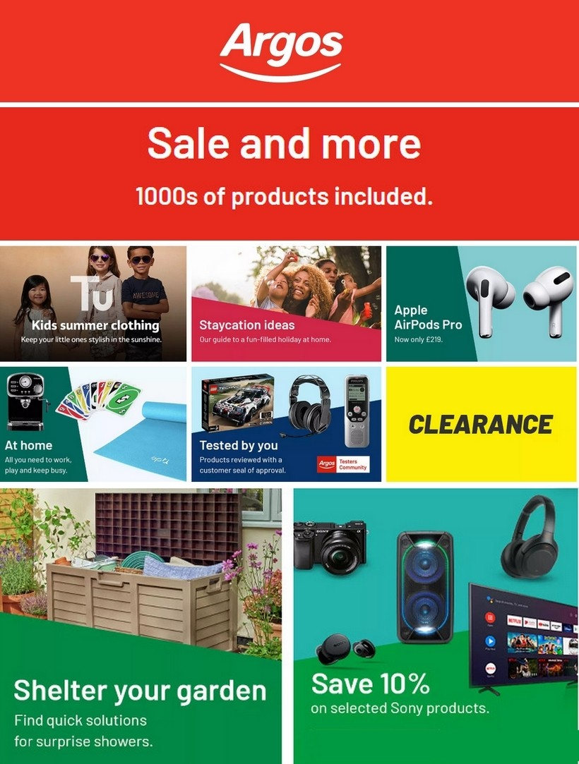 Argos Offers from July 7