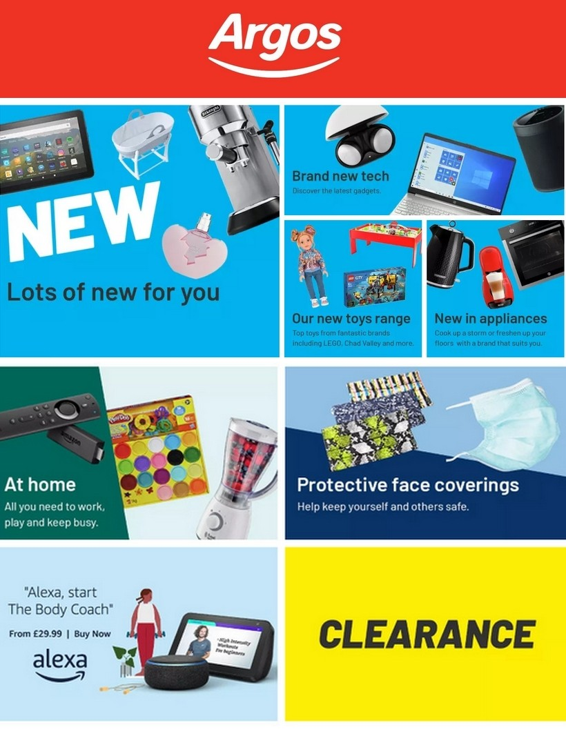Argos Offers from July 28