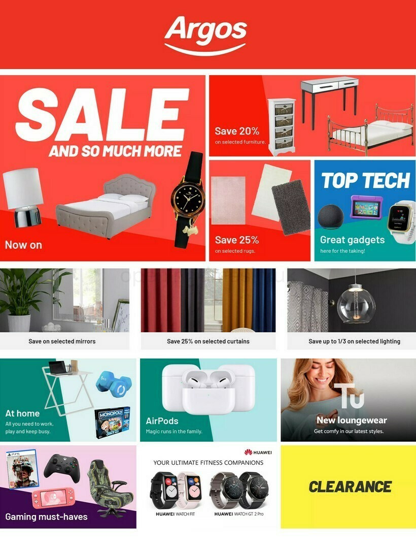 Argos Offers from January 11