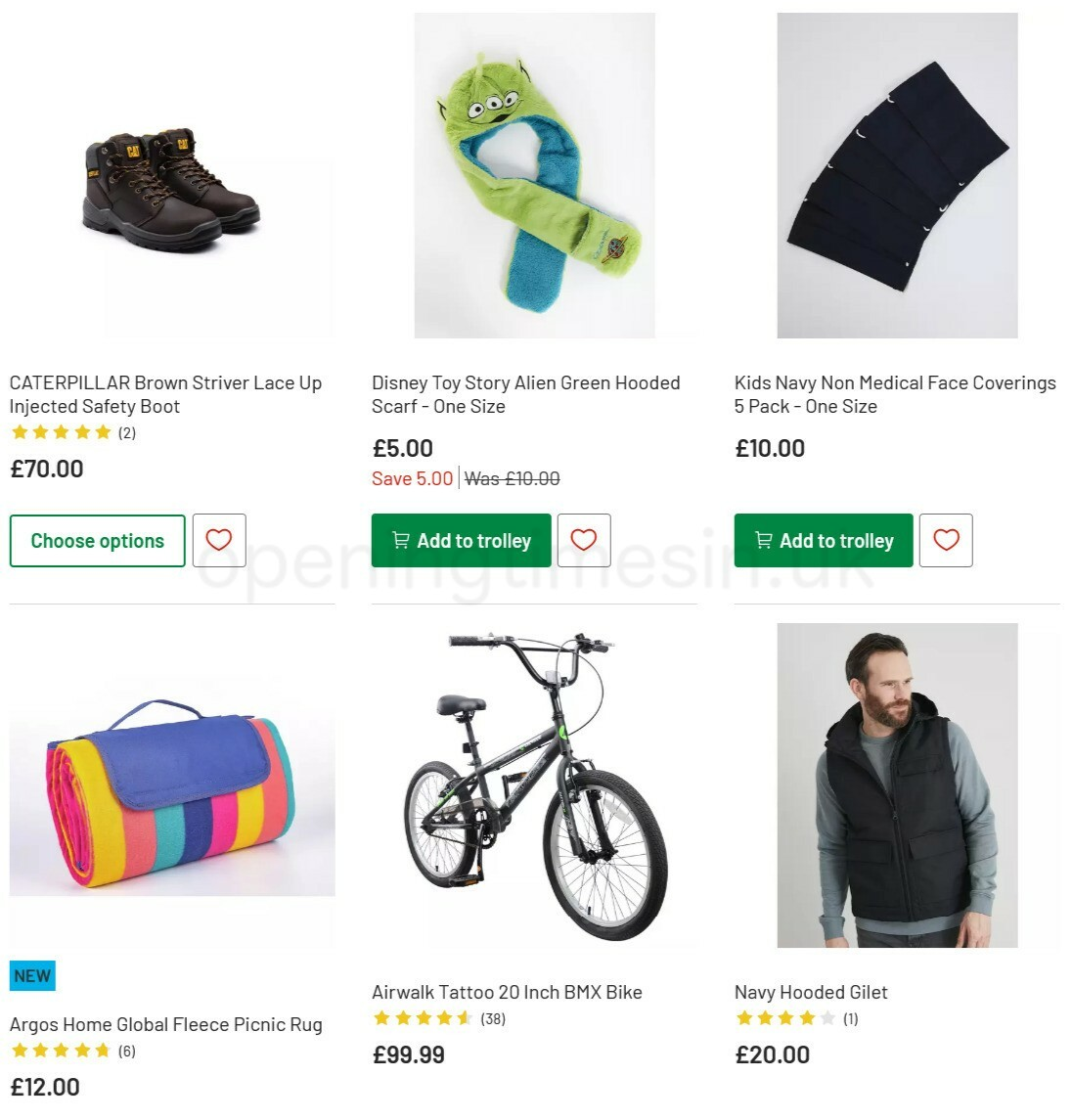 Argos Offers from April 6