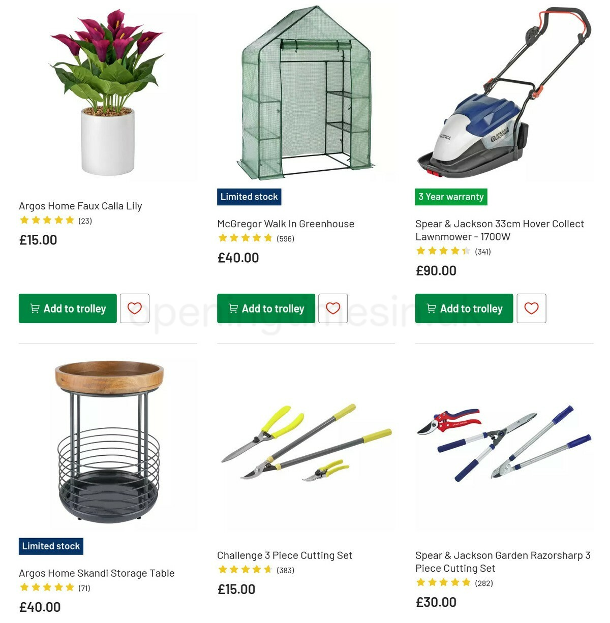 Argos Offers from May 3