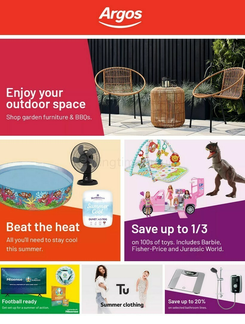Argos Offers from June 8