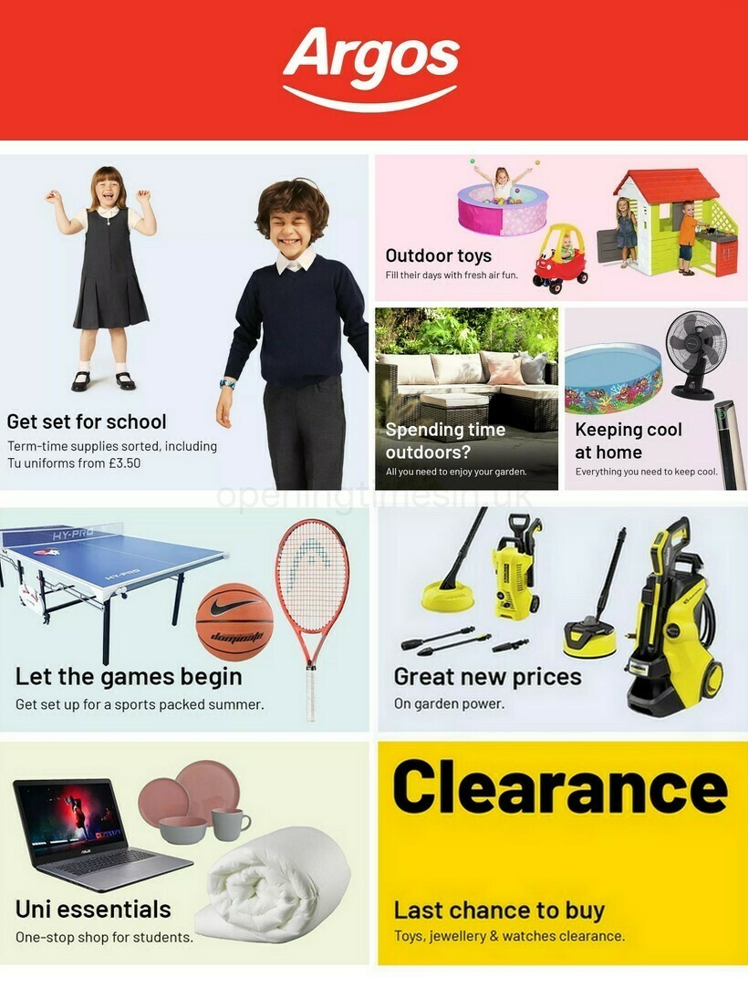 Argos Offers from July 19