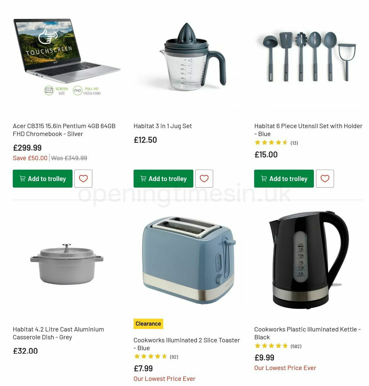 Argos Offers from August 31