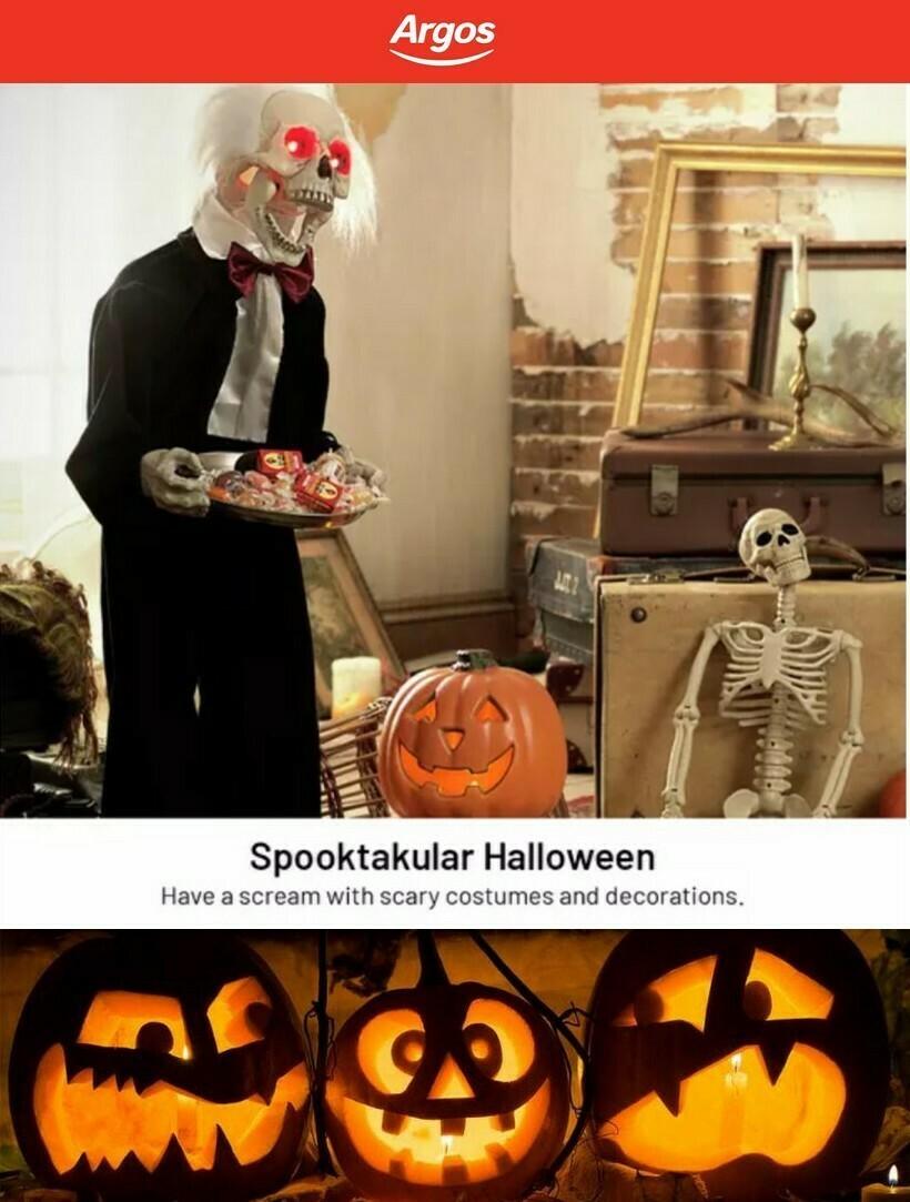 Argos Halloween Offers from October 4
