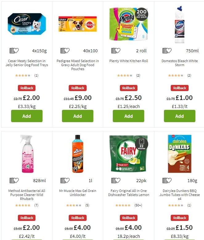 ASDA Offers from August 16