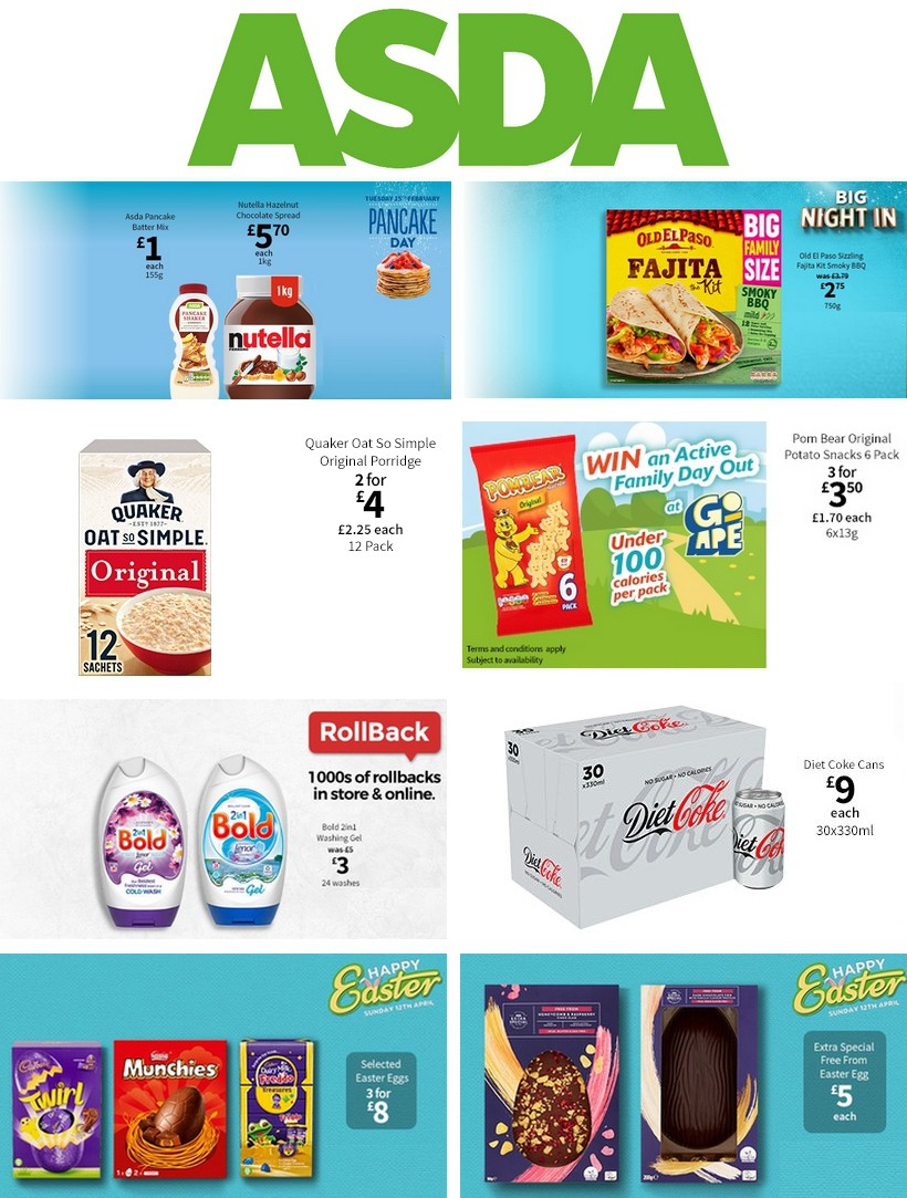ASDA Offers from February 14
