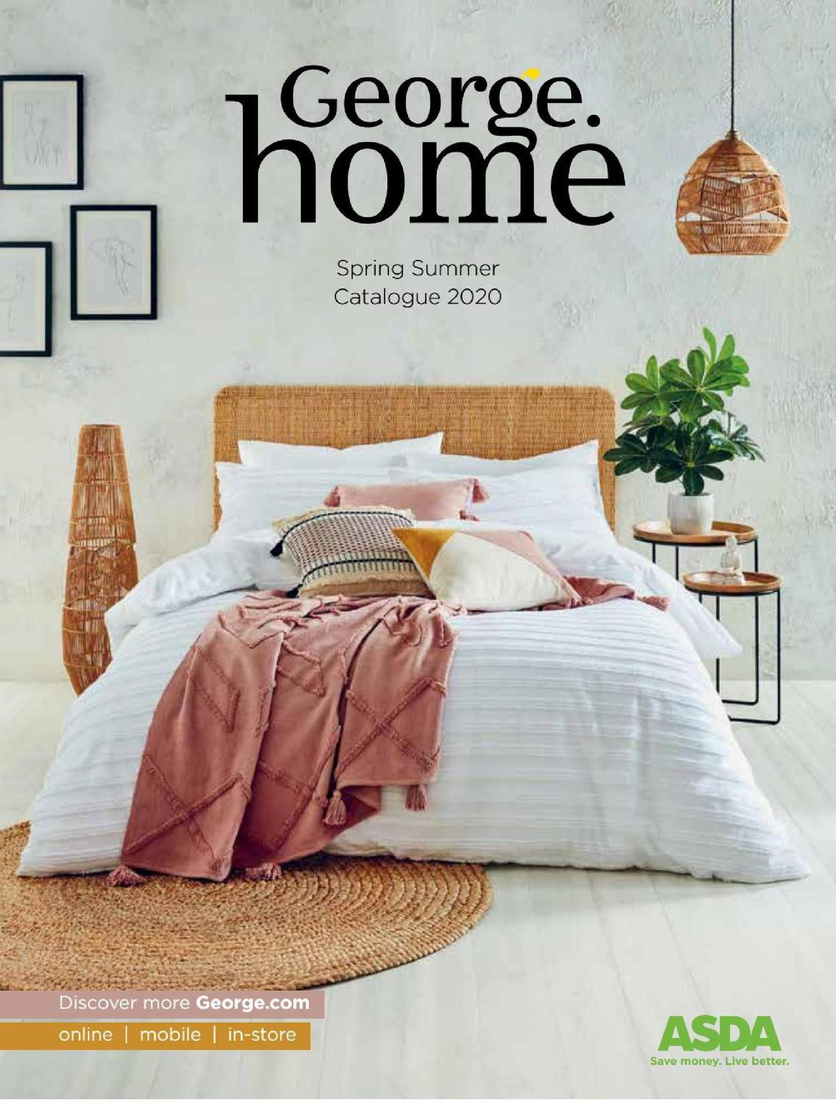 ASDA George Home Spring Summer Catalogue Offers from February 4