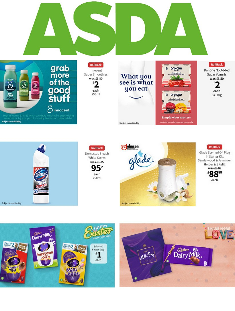 ASDA Offers from March 20