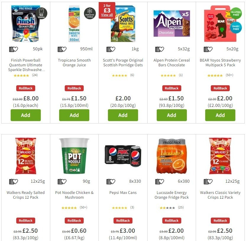 ASDA Offers from June 26