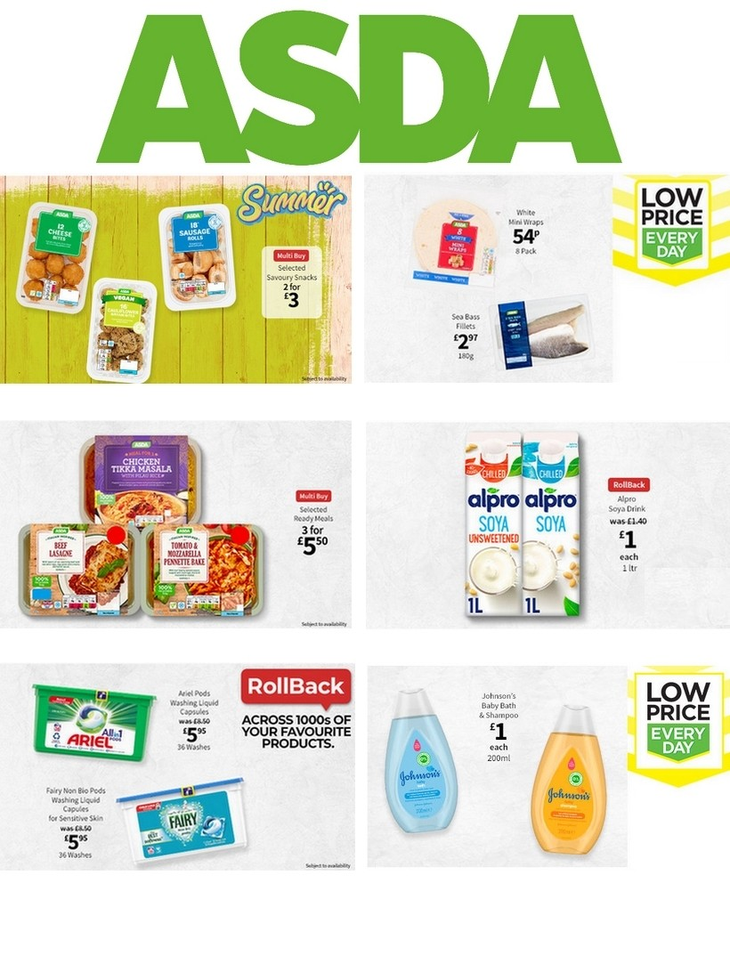 ASDA Offers from July 10