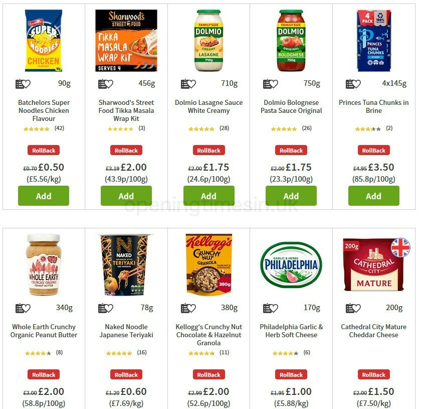 ASDA Offers from July 31