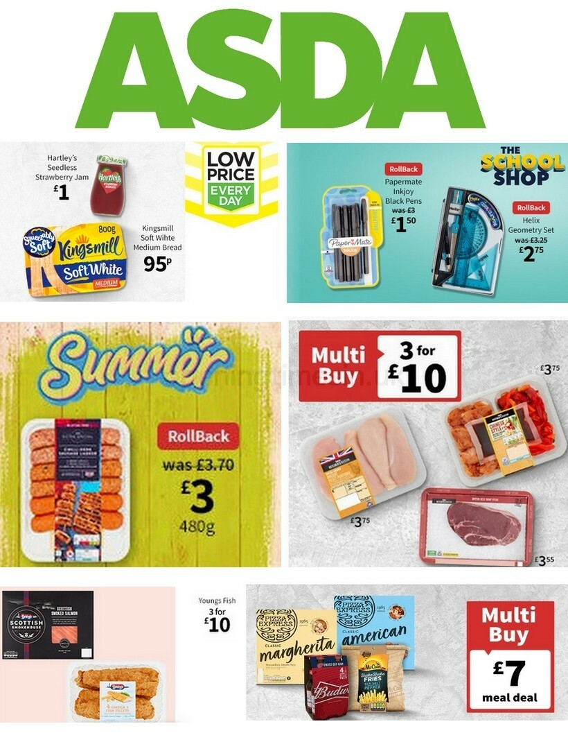 ASDA Offers from August 7