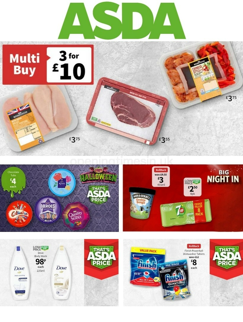 ASDA Offers from October 16