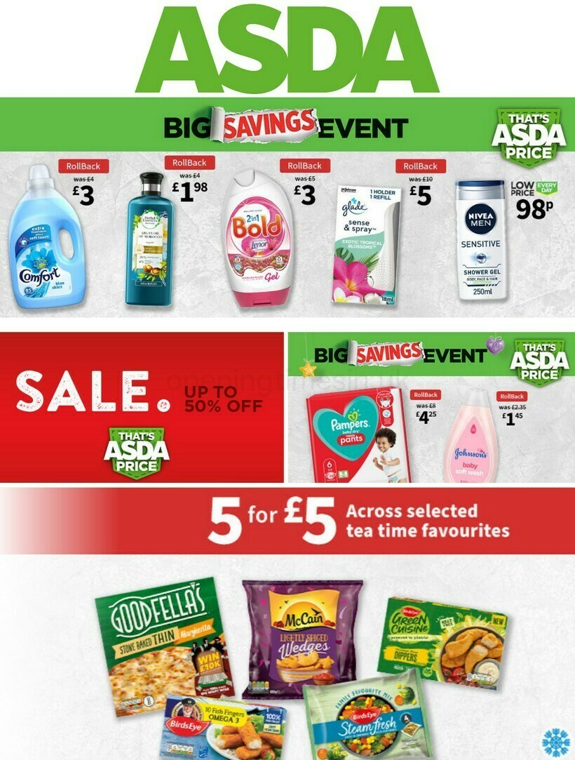 ASDA Offers from January 22