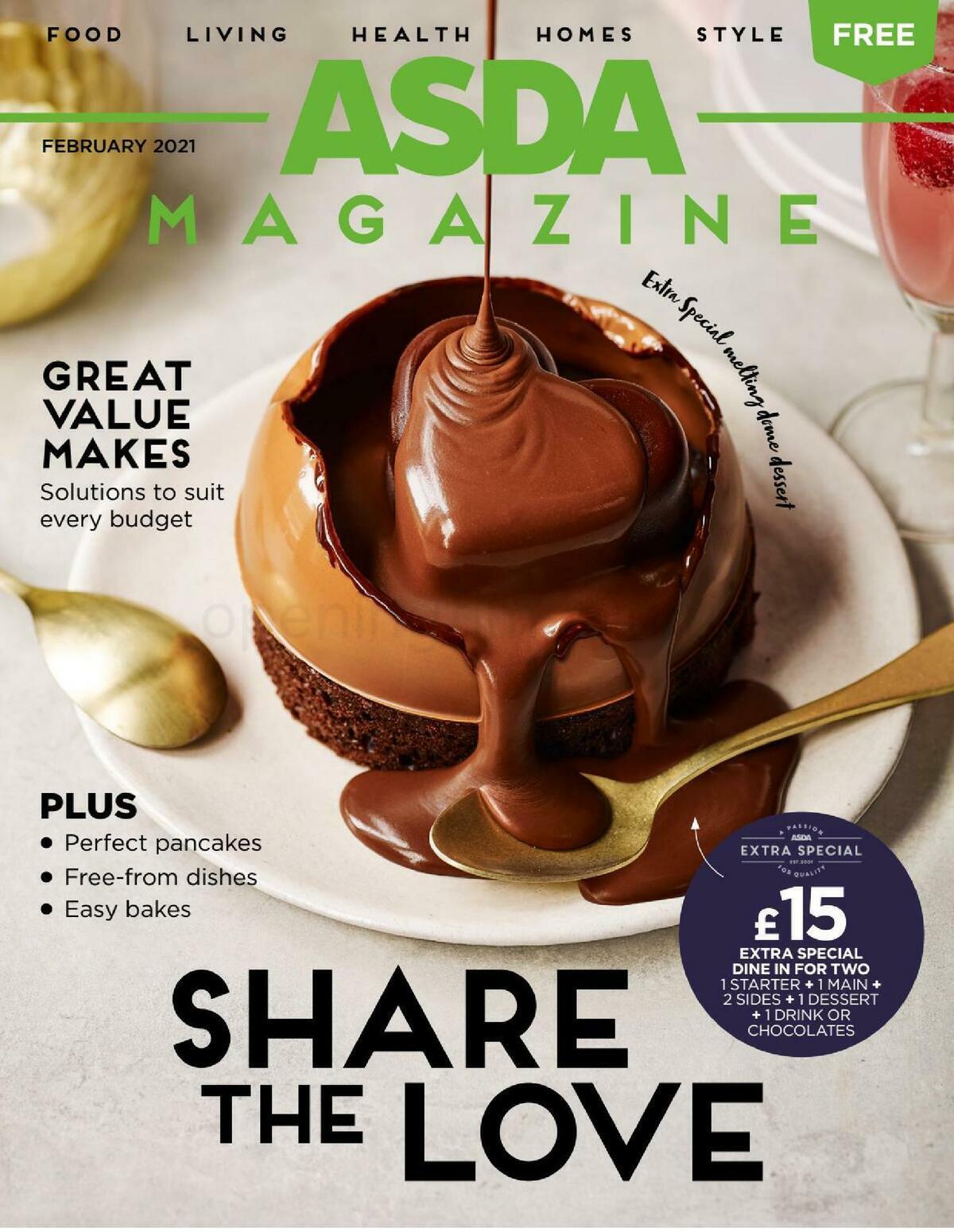 ASDA Magazine February Offers from February 1